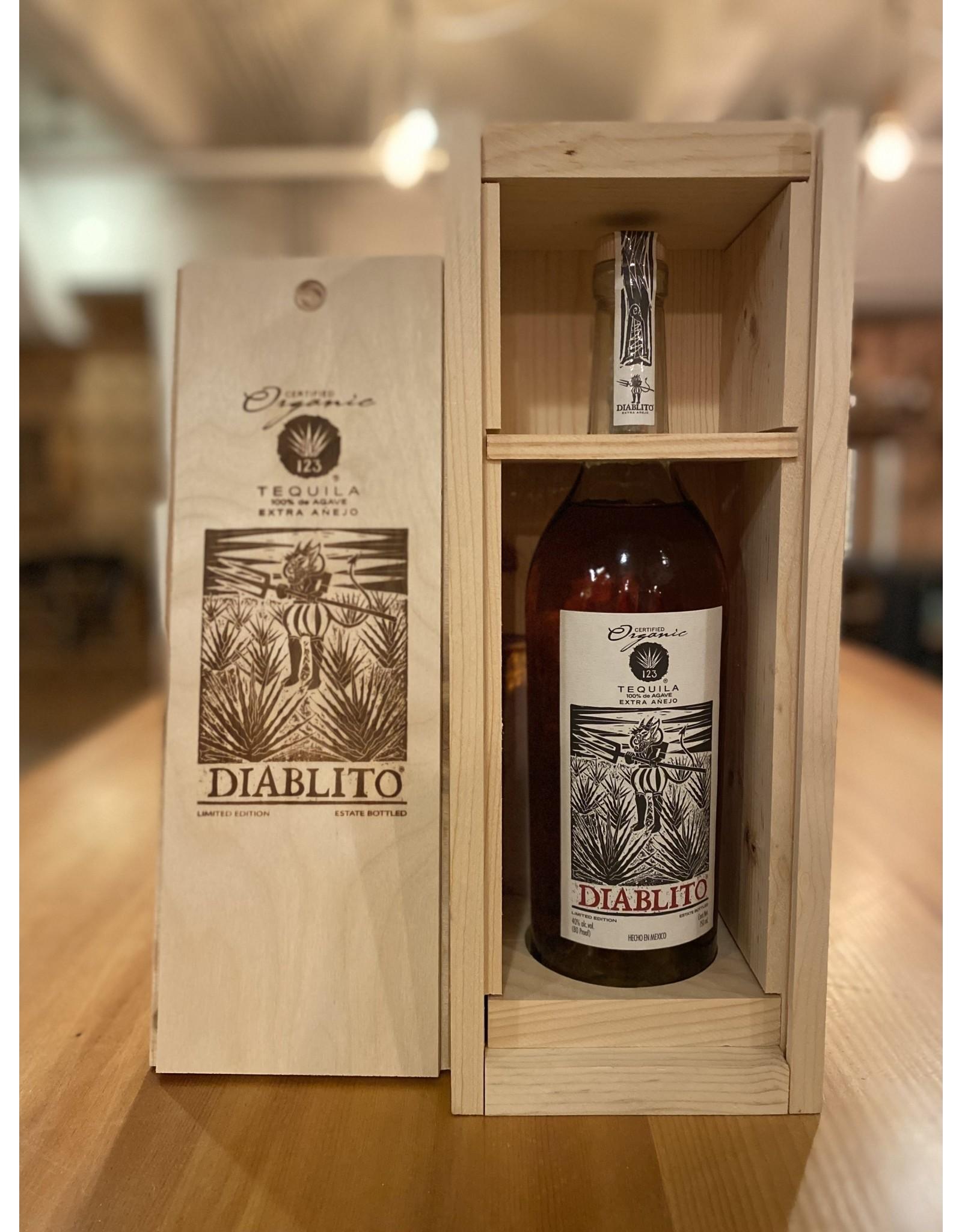 "123 Organic ""Diablito"" Extra Anejo Tequila - Jalisco, Mexico"