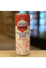 Hard Seltzer Good Omen Bottling ''Wild Tonic'' Hard Jun Kombucha w/Strawberry and Blood Orange - Cottonwood, AZ