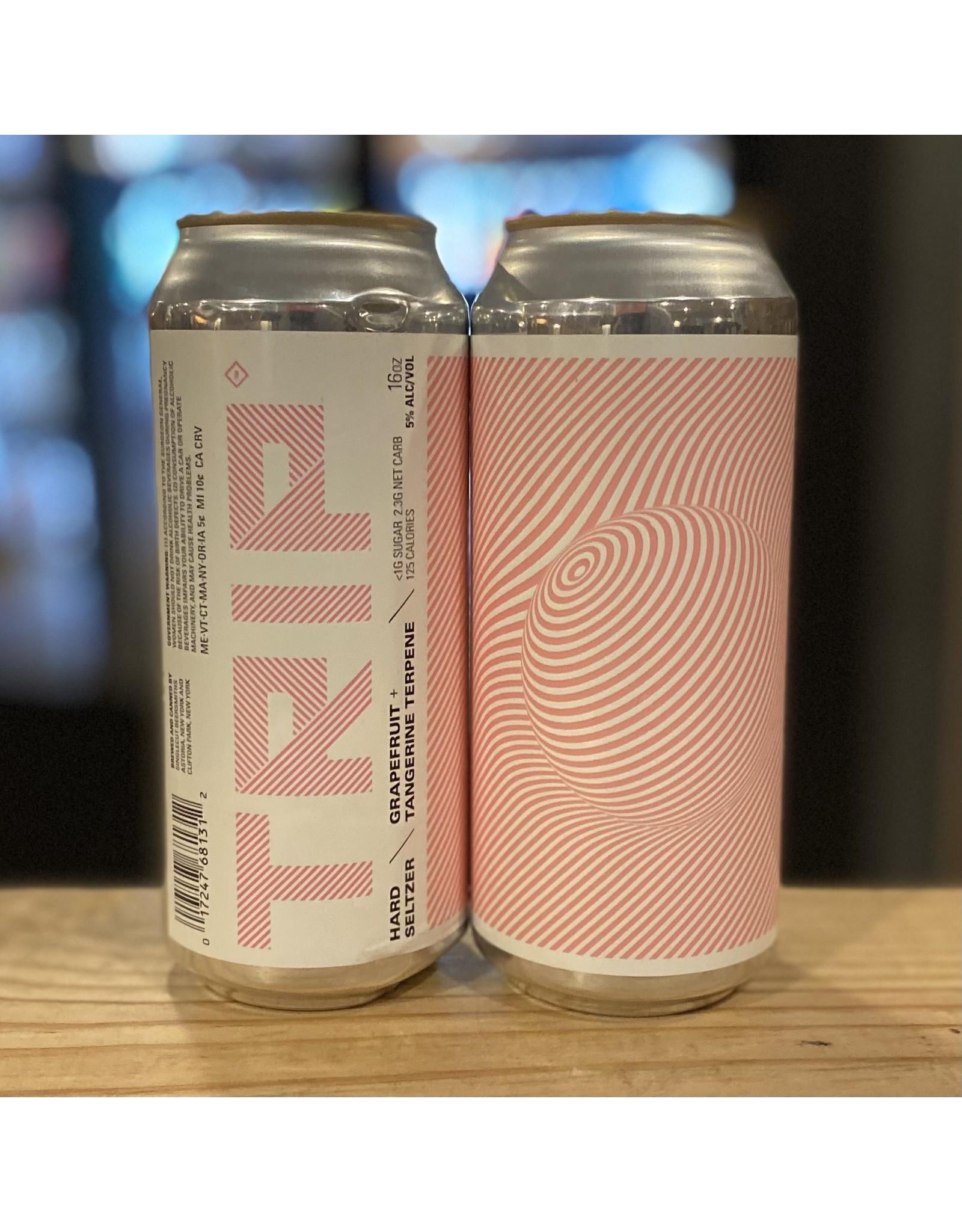 "Singlecut Beersmiths ""Trip"" Hard Seltzer w/Grapefruit and Tangerine Terpene - Queens, NY"