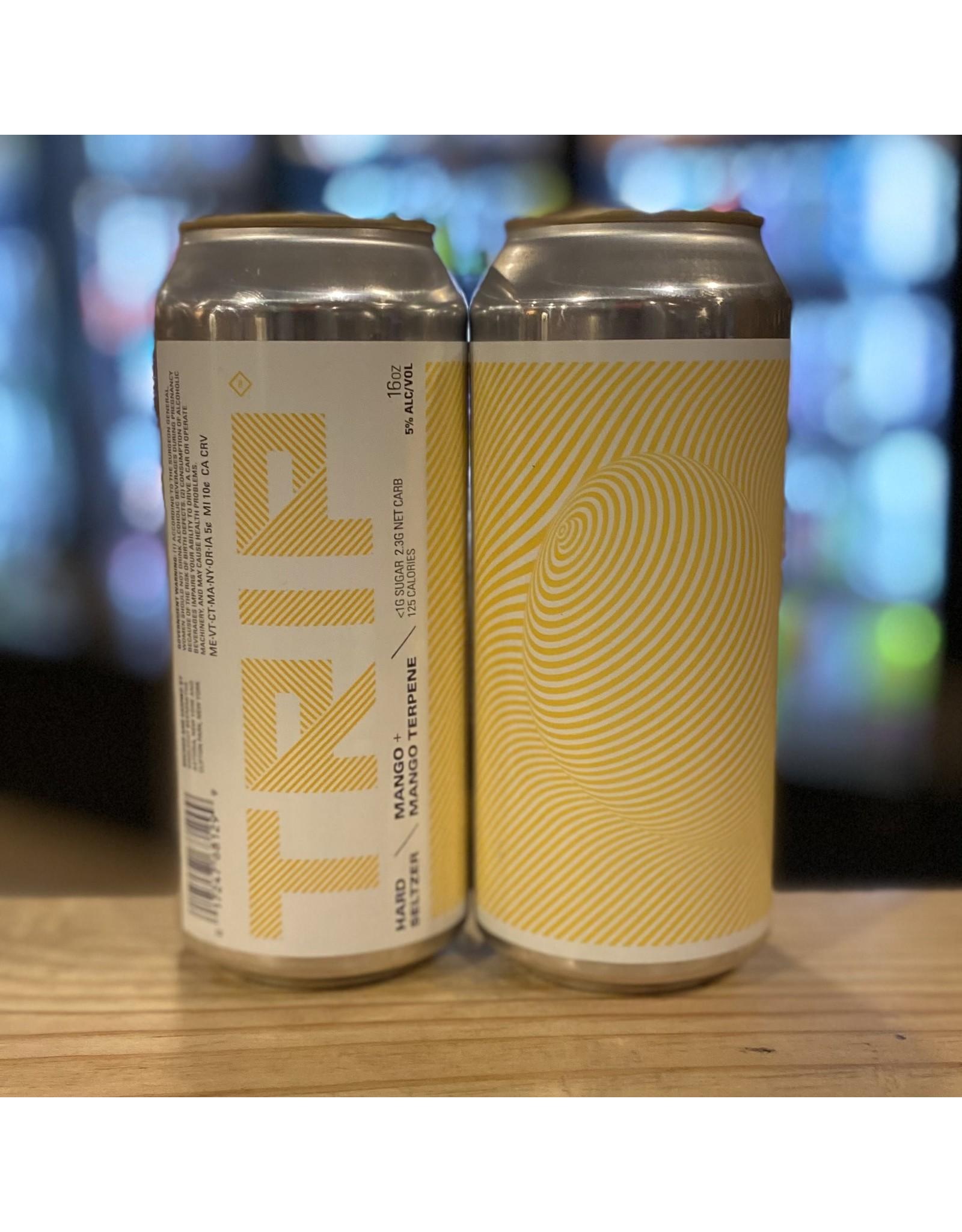 "Singlecut Beersmiths ""Trip"" Hard Seltzer w/Mango and Mango Terpene - Queens, NY"