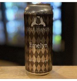"Lager Idle Hands ""Emelyn"" Unfiltered Zwickl Lager - Malden, MA"