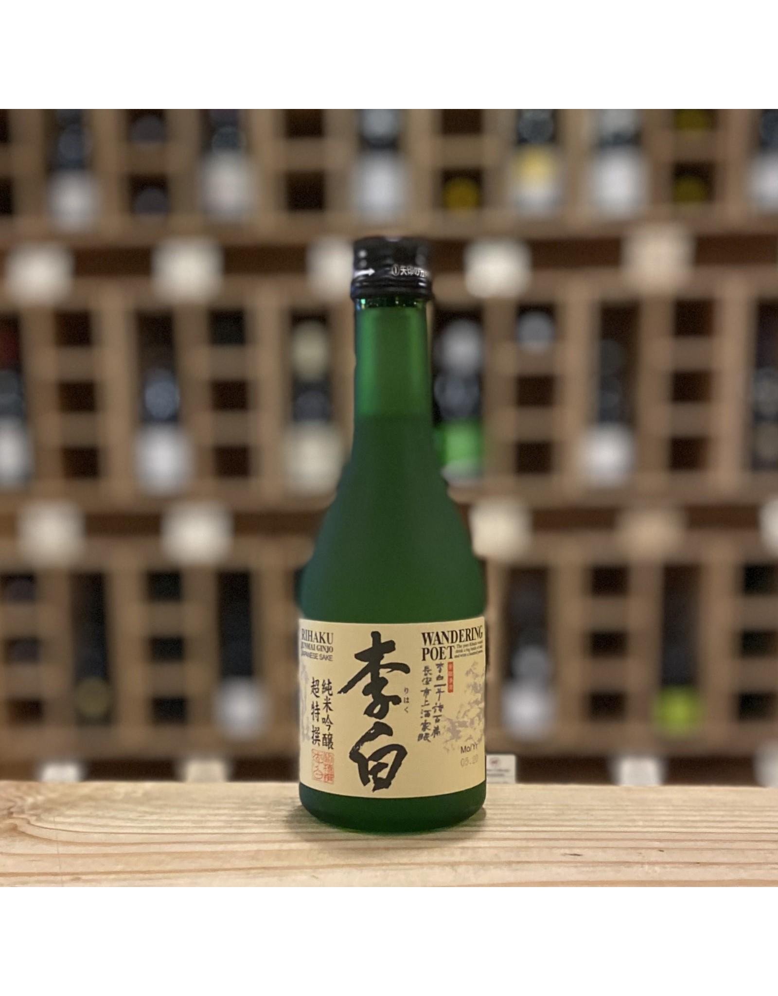 "Rihaku Shuzo ""Wandering Poet"" Junmai Ginjo Sake 300ml - Japan"
