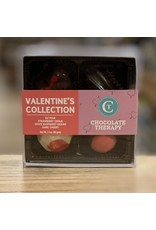 """Chocolate Chocolate Therapy """"Valentine's"""" 4 Piece Truffle Collection - Framingham, MA"""