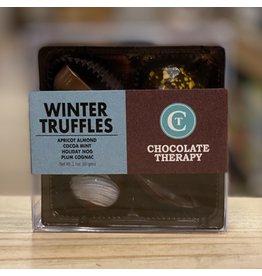 "Chocolate Chocolate Therapy ""Winter"" Truffle 4 piece - Framingham, MA"