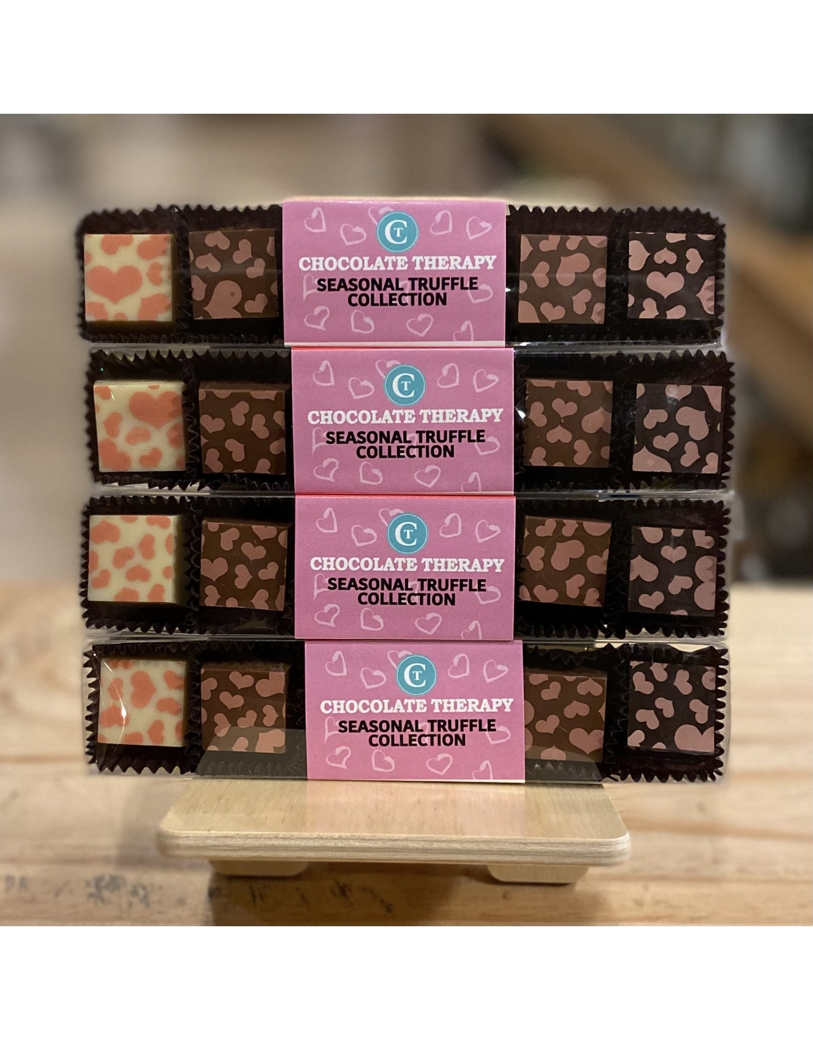 """Chocolate Chocolate Therapy """"Valentine's"""" 5 Piece Truffle Collection - Framingham, MA"""