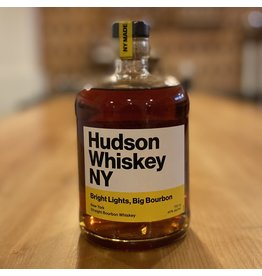 "Hudson Whiskey ""Bright Lights, Big Bourbon"" Straight Bourbon Whiskey - New York"