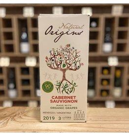 "3 Liter Box Domaine Bousquet ""Natural Origins"" Cabernet Sauvignon 2019 3 Liter Bag-In-Box - Mendoza, Argentina"