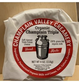 Cheese Cheese Champlain Valley Creamery Organic Triple Cream  4oz - Vermont
