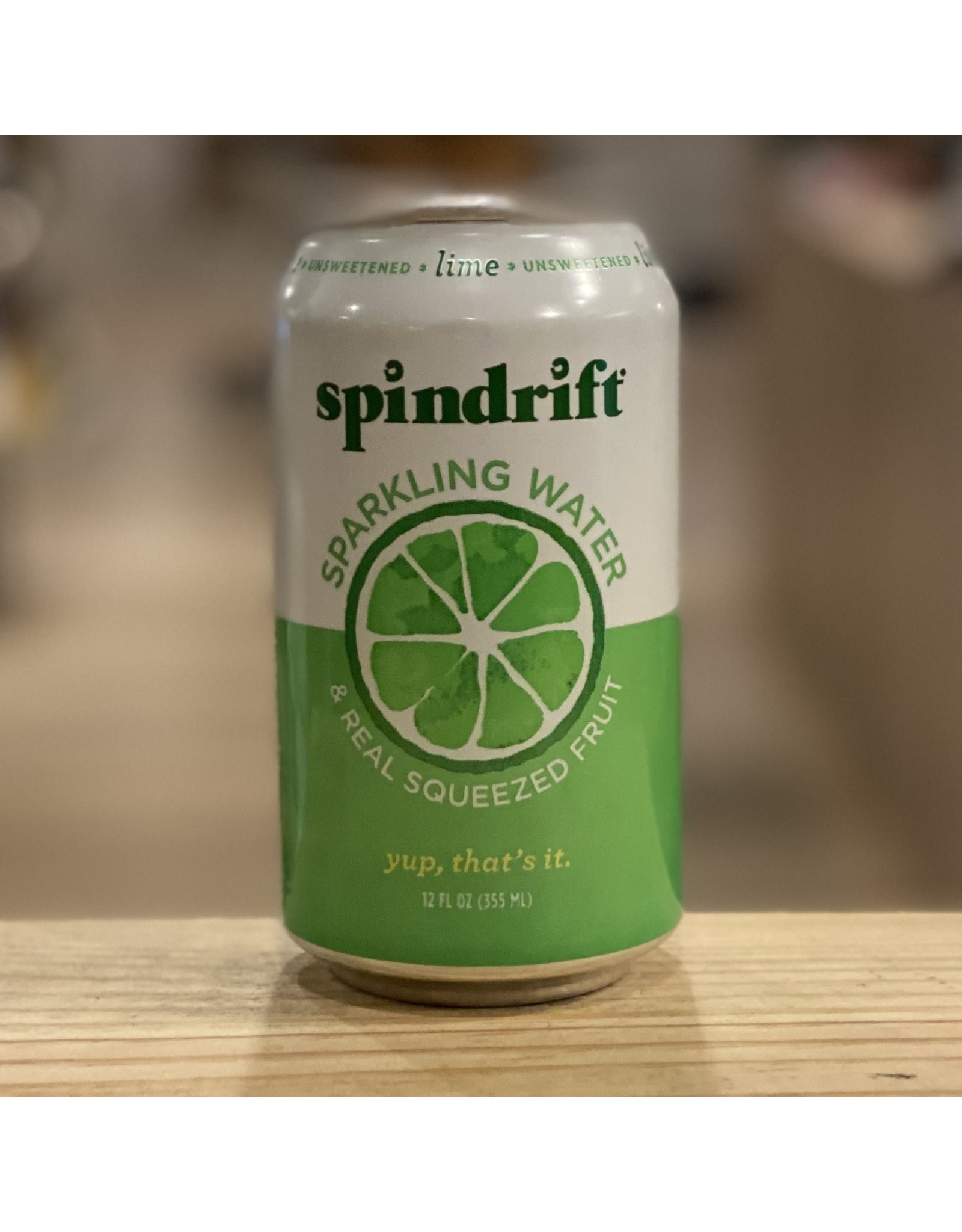 Water-Sparkling Mineral Spindrift Lime Sparkling Water - Newton, MA