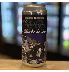 "IPA Four Quarters Brewing ""Space Station Shakedown"" Milkshake IPA w/Barbe Rouge Hops and Astronaut Ice Cream (!) - Winooski, Vermont"