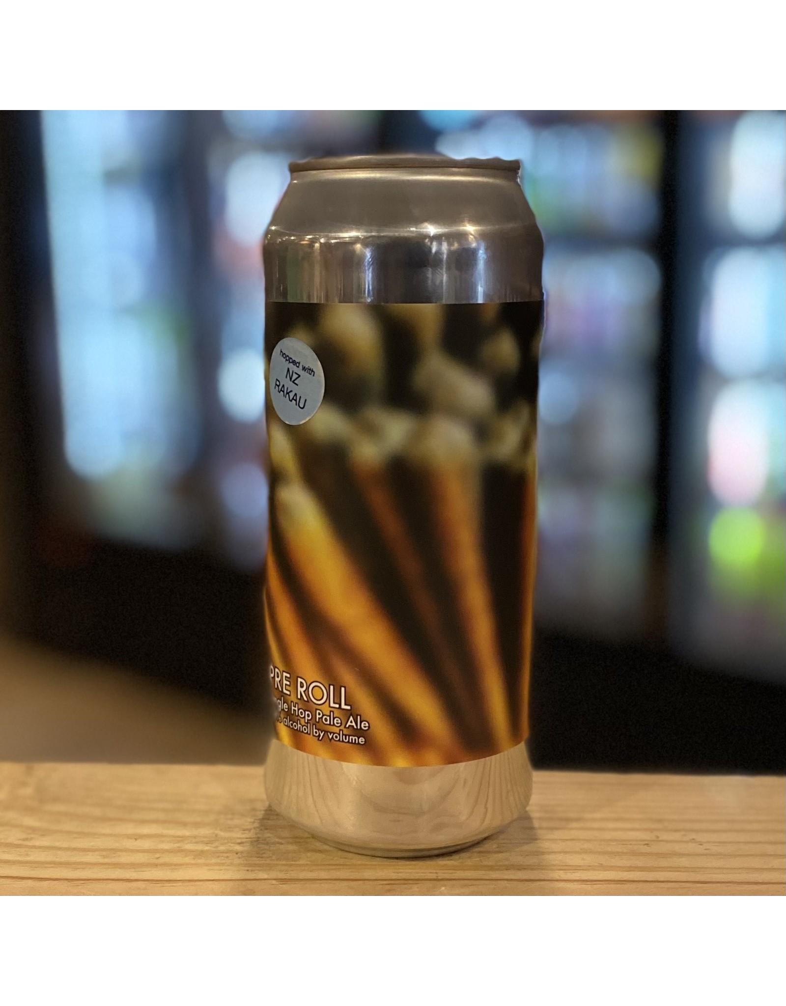 "Pale Ale Honest Weight Artisan Beer ""Pre Roll"" SIngle Hop Pale Ale - Orange, MA"