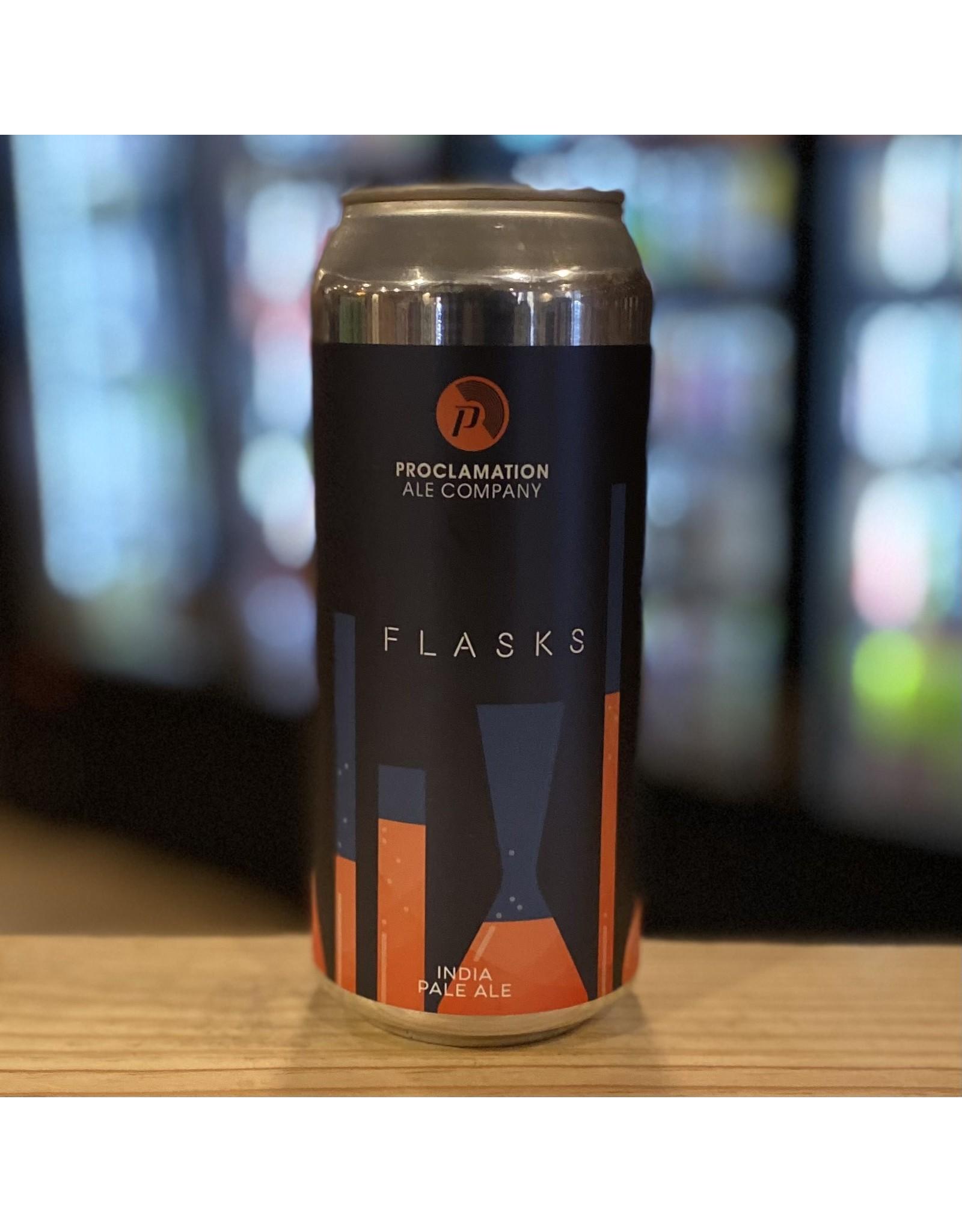 "IPA Proclamation Ale Company ""Flasks"" IPA - Warwick, RI"