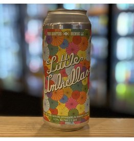 Sour Four Quarters Brewing ''Little Umbrellas'' Sour Ale w/Pineapple and Toasted Coconut - Winooski, Vermnt