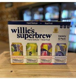 Hard Seltzer Willies Superbrew Hard Seltzer Variety 12-Pack - Pawtucket, RI