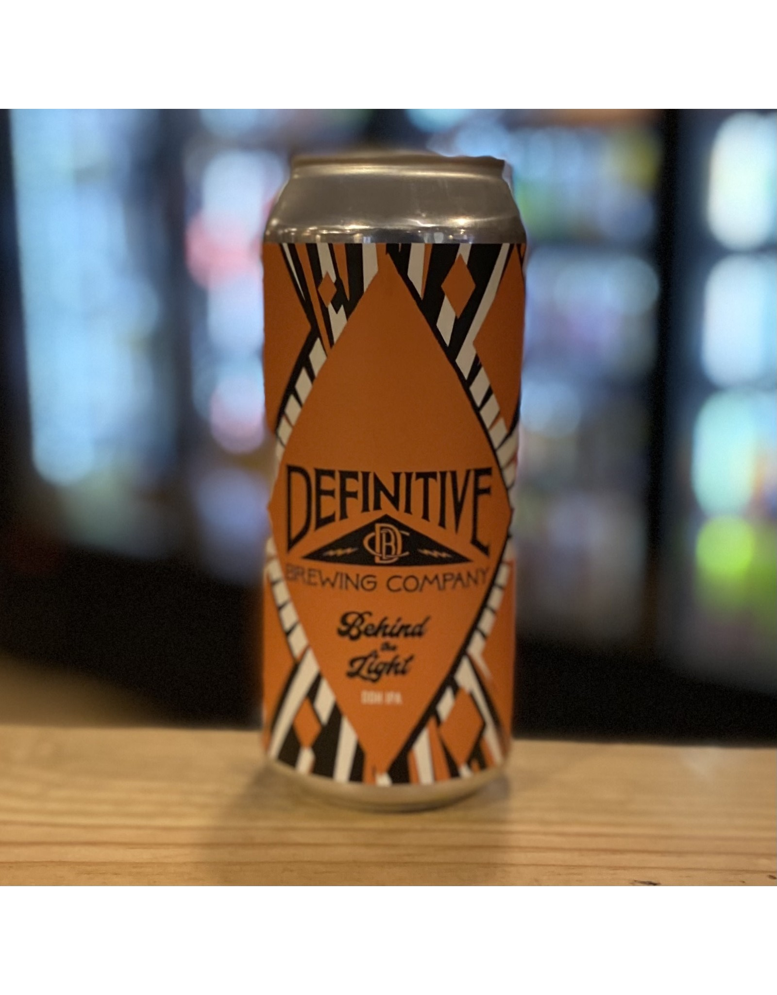 """IPA Definitive Brewing Company """"Behind the Light"""" DDH IPA - Portland, Maine"""