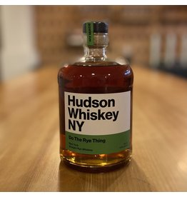 "Hudson Whiskey ""Do the Rye Thing"" Straight Rye Whiskey -"