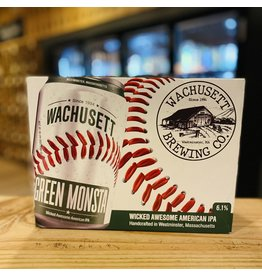 "12-Pack Wachusett ""Green Monsta"" IPA 12-Pack - Westminster, MA"