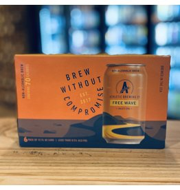 """Non-Alchoholic Athletic Brewing Company """"Free Wave"""" Hazy IPA Non-Alchoholic - Stratford, CT"""