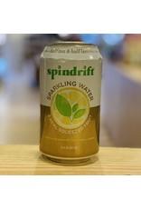 "Water-Sparkling Mineral Spindrift ""Half Tea & Half Lemon"" Sparkling Water w/Black Tea and Lemon - Newton, MA"