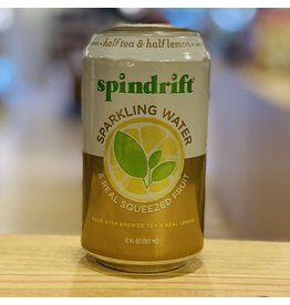 "Water-Sparkling Mineral Spindrift ""Half Tea & Half Lemon"" Sparkling Water w/Black Tea and Lemon - Newton, MA"