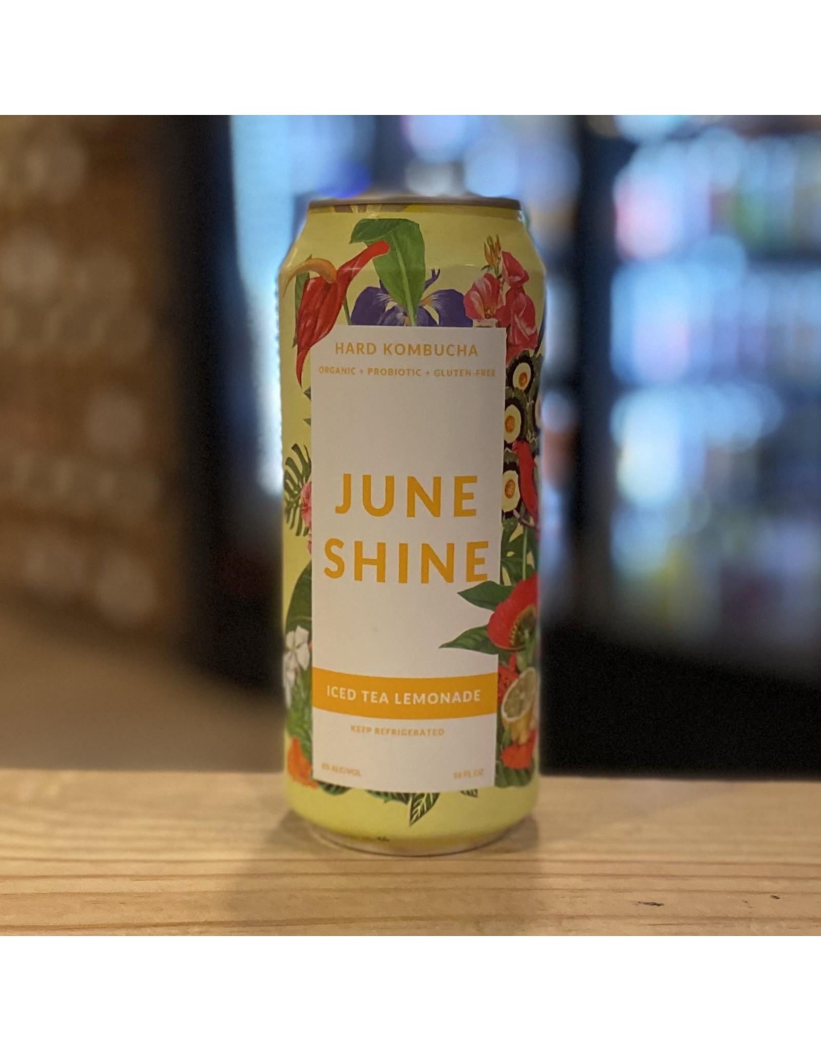 "June Shine ""Iced Tea Lemonade"" Organic Hard Kombucha - San Diego, CA"