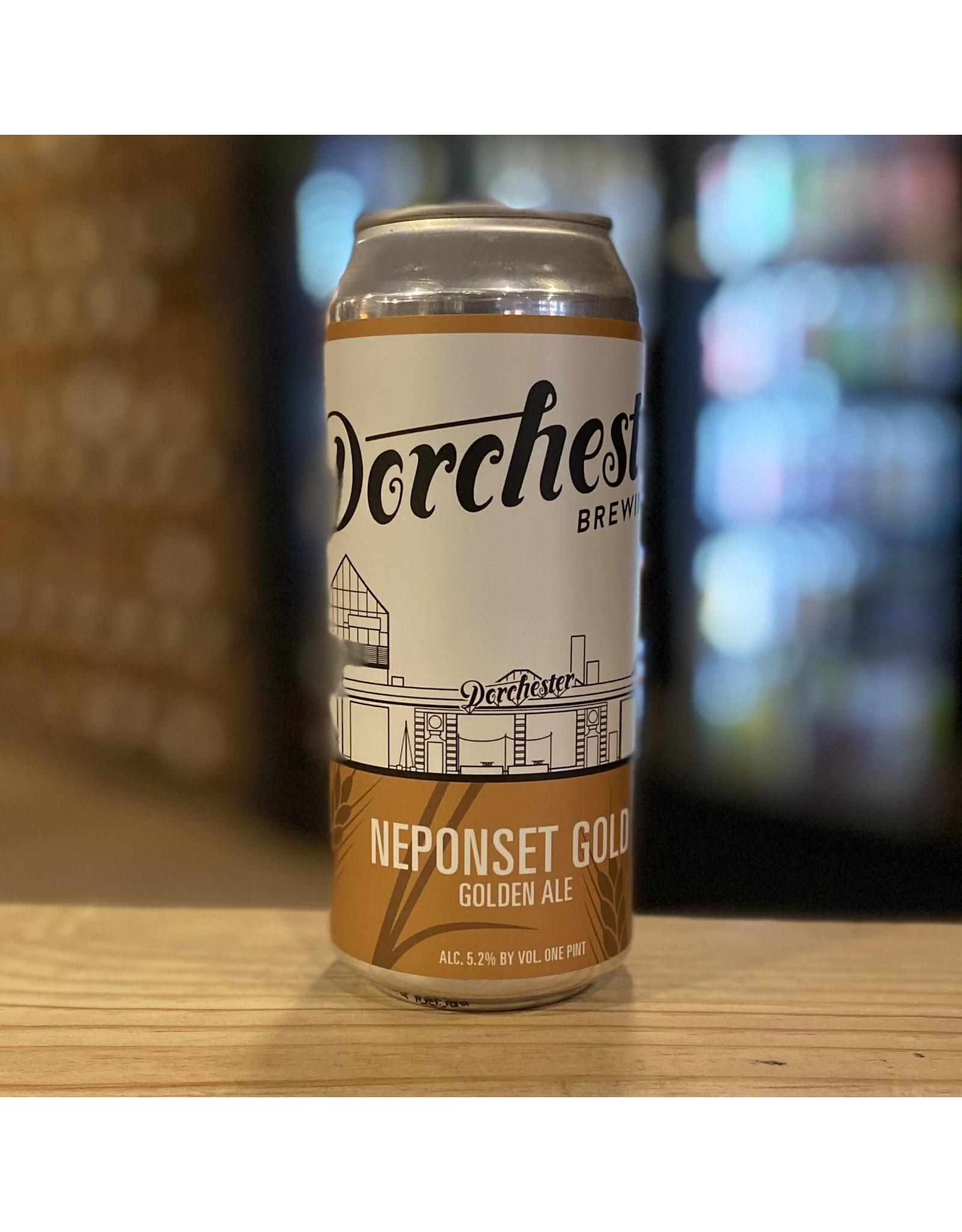 "Ale Dorchester Brewing Co ""Neponset Gold"" Golden Ale - Dorchester, MA"
