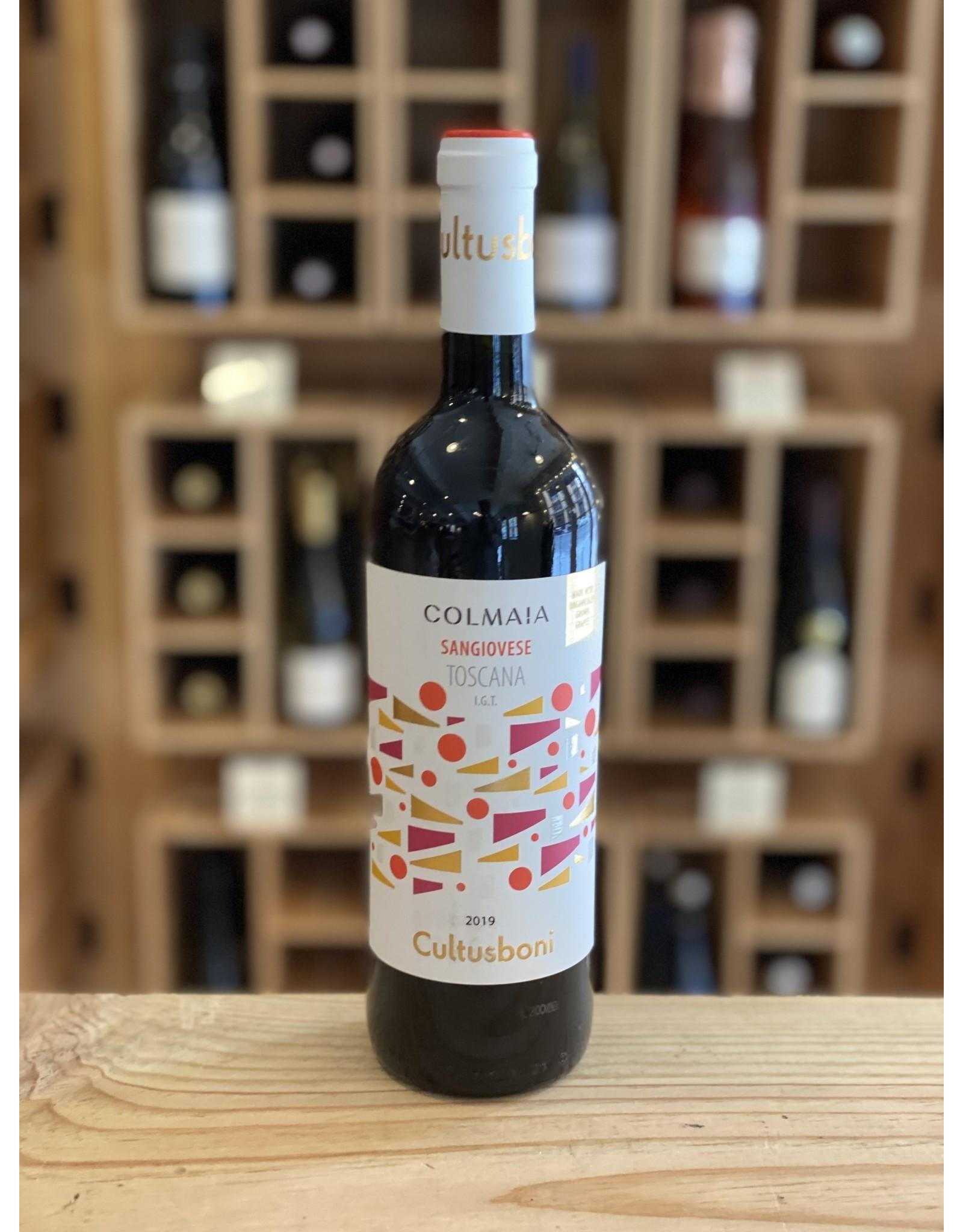 """Tuscany Cultusboni """"Colmaia"""" Sangiovese 2019 - Tuscany IT"""