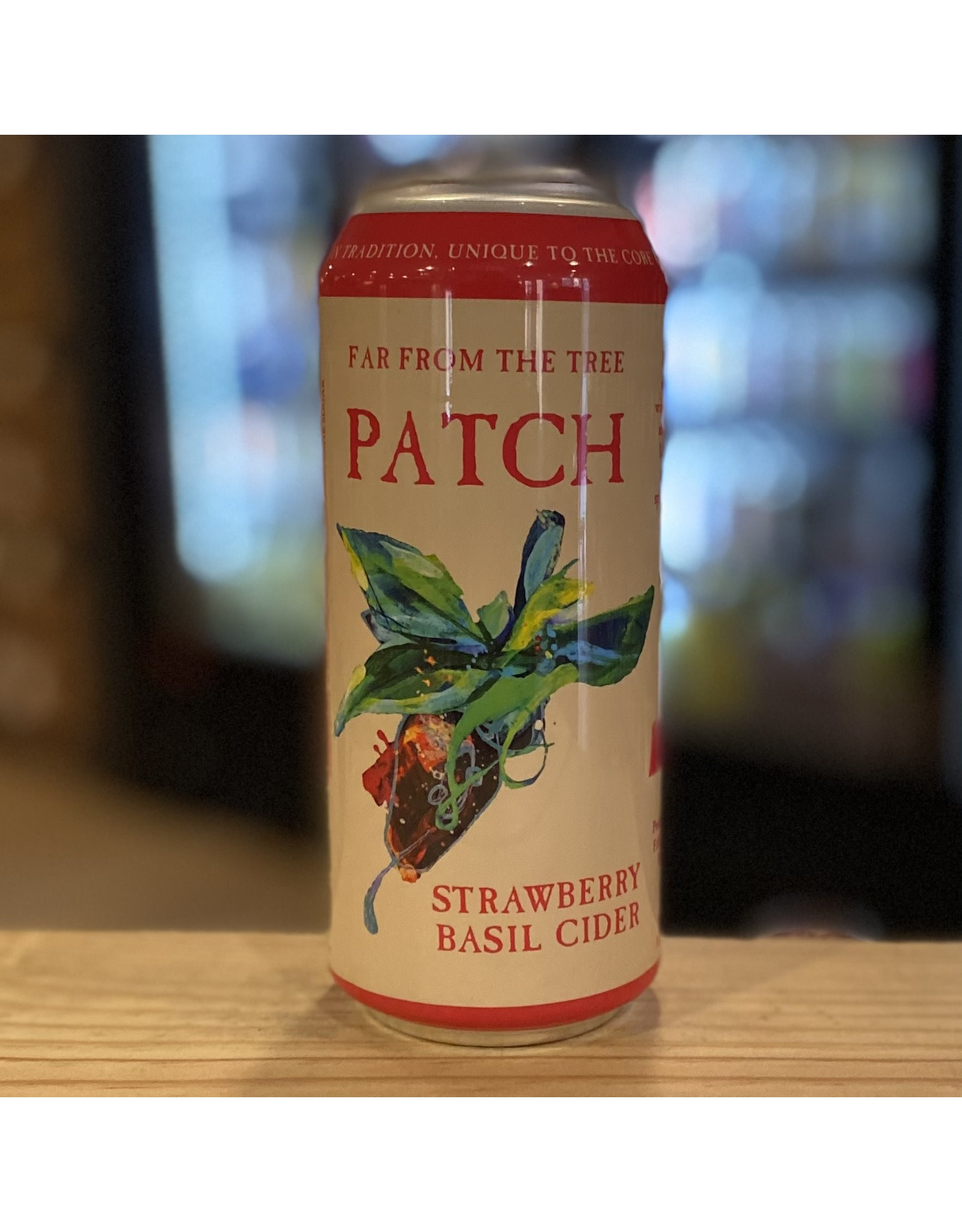 """Far From the Tree """"Patch"""" Cider w/Strawberry and Basil - Salem, MA"""