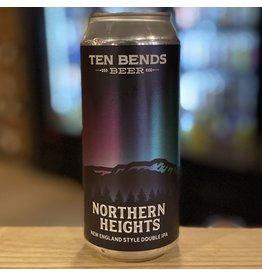 """DIPA Ten Bends Beer """"Northern Heights"""" NEDIPA - Hyde Park, Vermont"""