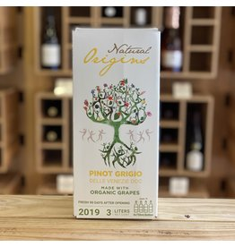 "3 Liter Box Domaine Bousquet ""Natural Origins"" Pinot Grigio 2019 3 Liter Bag-In-Box - Venezie, Italy"