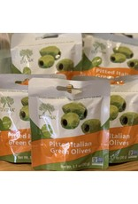 Olives Divina Pitted Italian Green Olives Snack Pack 1.1oz - Italy