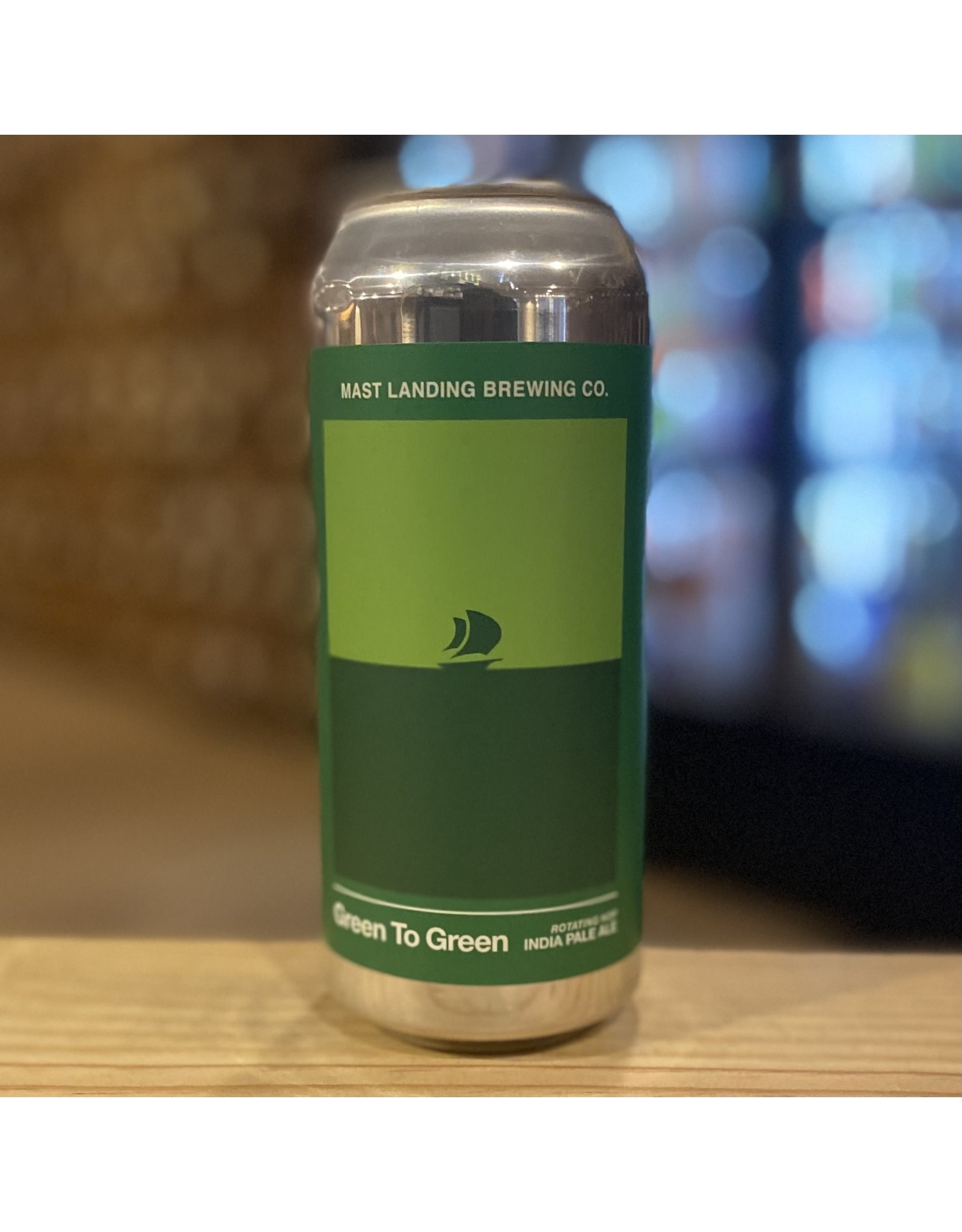 "IPA Mast Landing ""Green To Green"" Rotating Hop IPA Batch 31 - Westbrook, Maine"