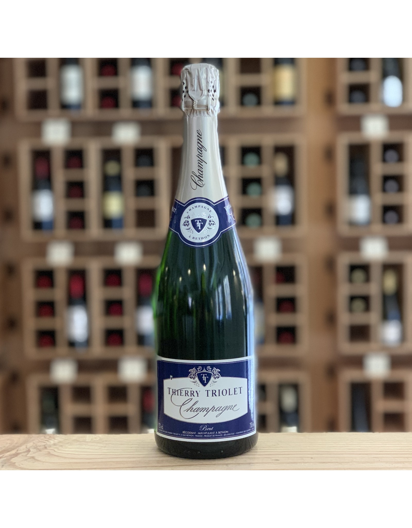 Thierry Triolet Brut NV - Champagne, France