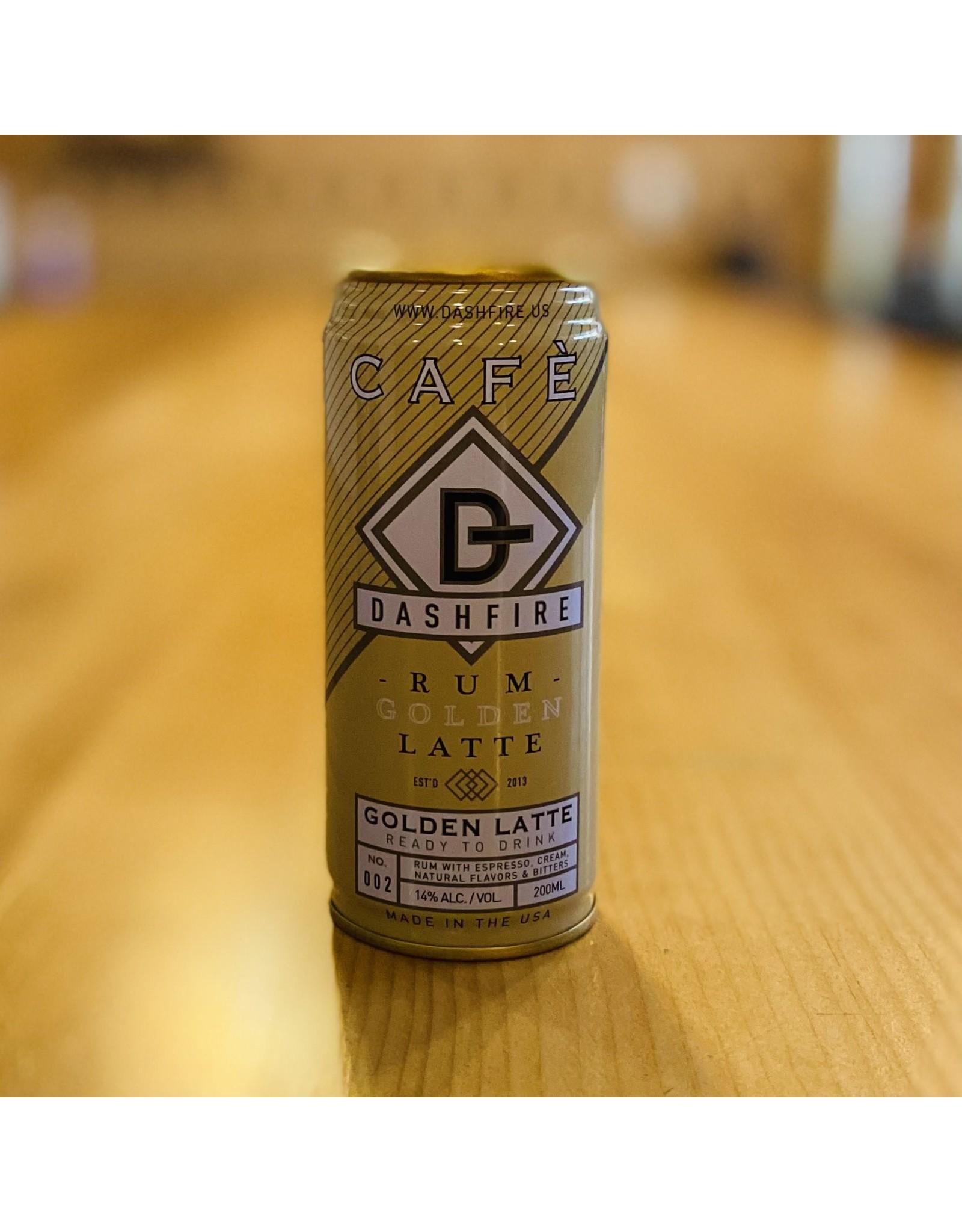 "Dashfire ""Cafe"" Golden Latte Rum RTD Cocktail 200ml - Minnetonka, Minnesota"