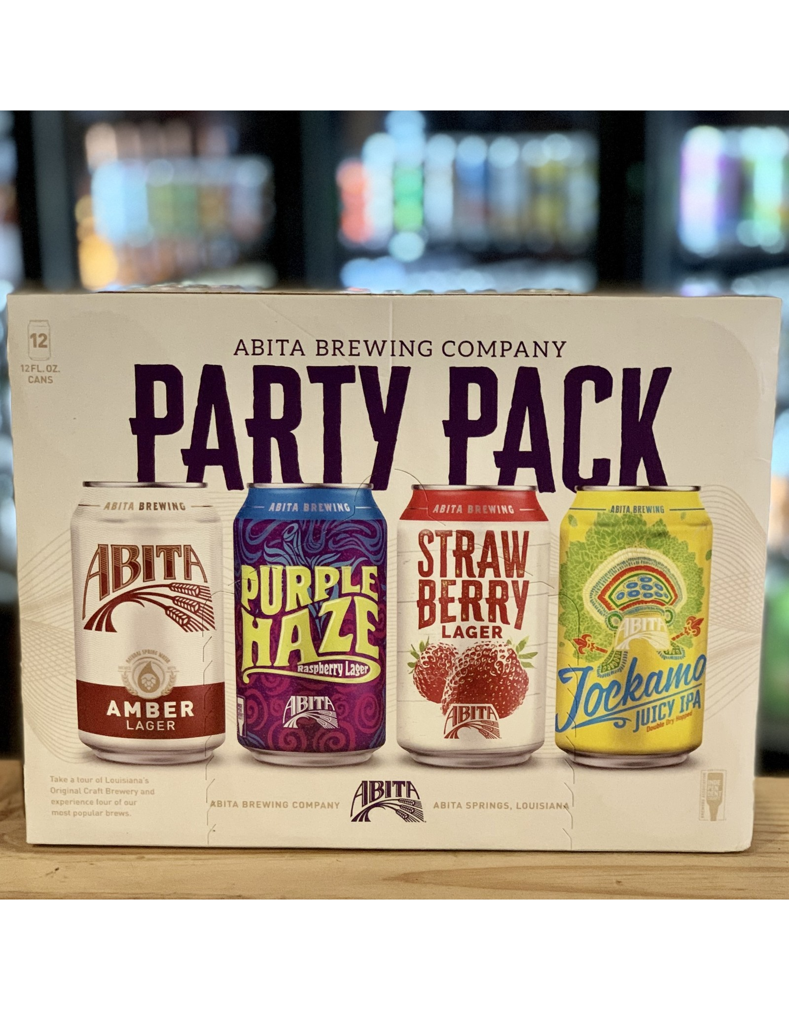 "12-Pack Abita Brewing Company ""Party Pack"" Variety 12-Pack - Louisiana"