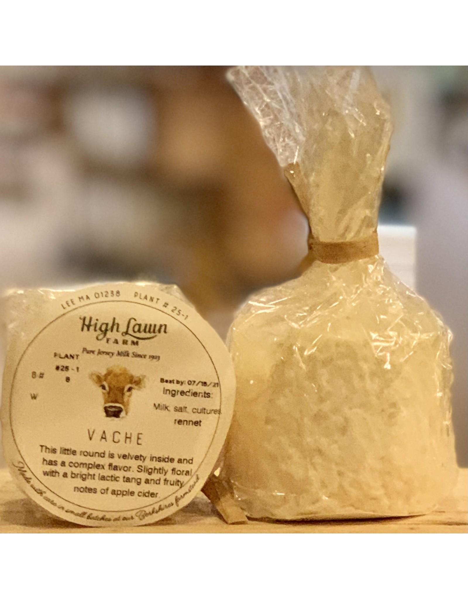 """Cheese High Lawn Farms """"Vache"""" Soft Mild Cows Milk Button - Lee, MA"""