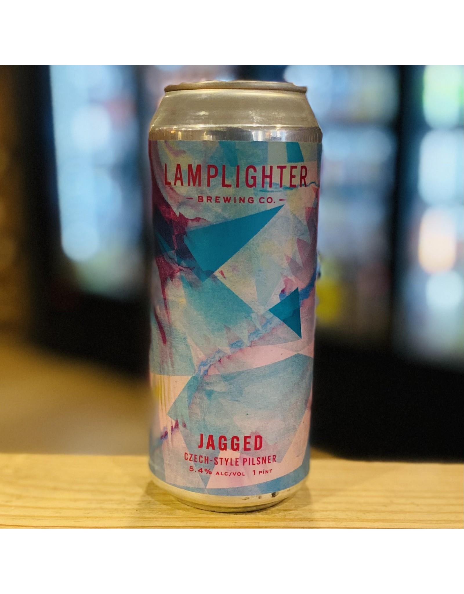 "Pilsner Lamplighter Brewing Co ""Jagged"" Czech Style Pilsner - Cambridge, MA"