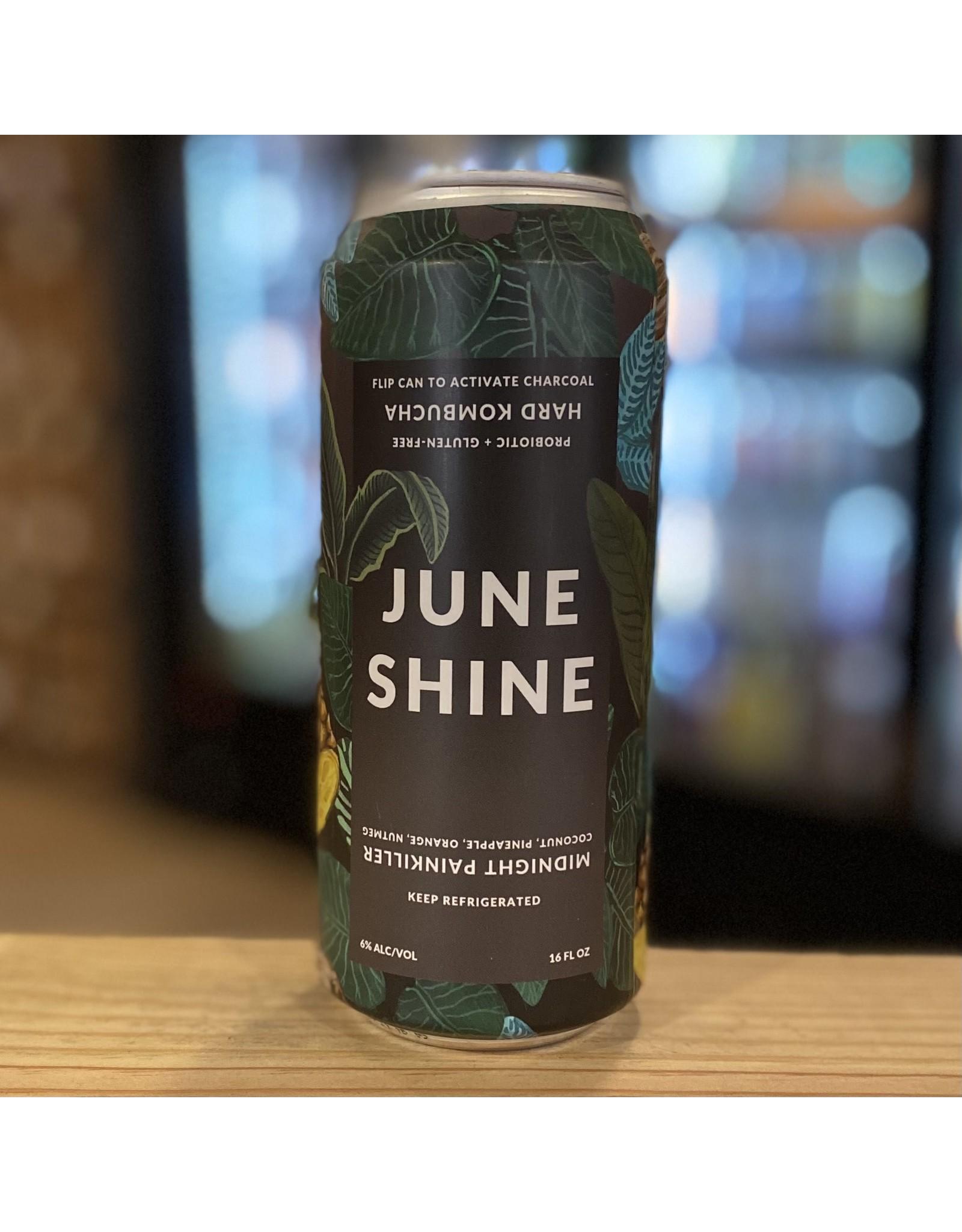 "June Shine ""Midnight Painkiller"" Organic Hard Kombucha w/Coconut, Pineapple, Orange, Nutmeg - San Diego, CA"