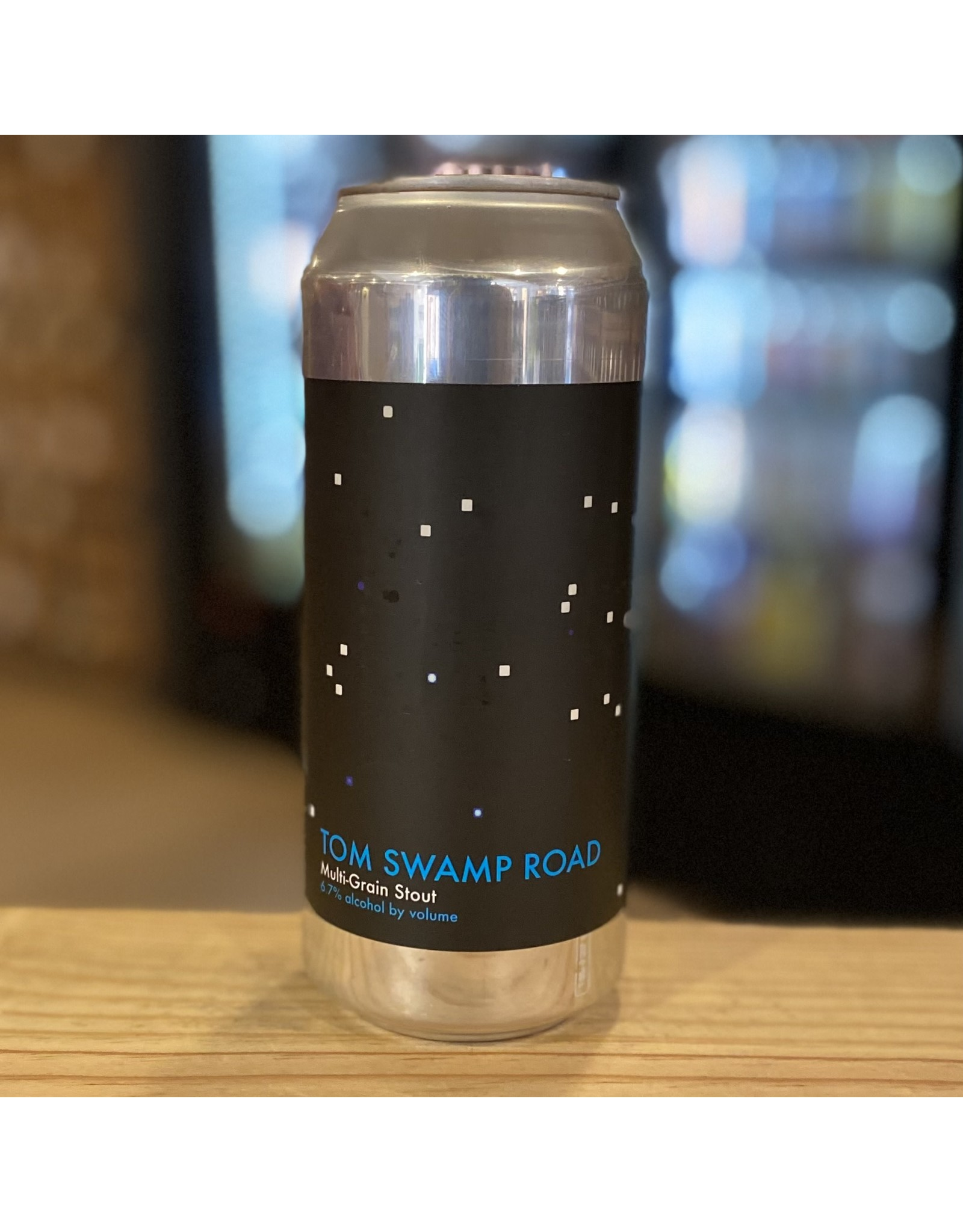 "Stout Honest Weight Artisan Beer ""Tom Swamp Road"" Multi-Grain Stout - Orange, MA"