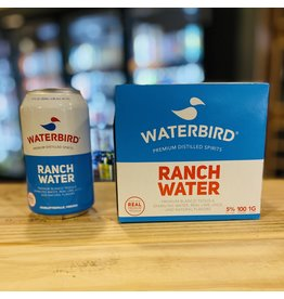 """Waterbird """"Ranch Water"""" RTD Blanco Tequila Cocktail w/Sparkling Water and Lime 12oz Can - Charlottesville, Virginia"""