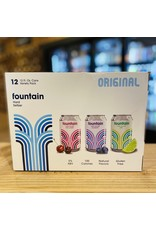 """12-Pack Fountain """"Original"""" Hard Seltzer Variety 12-Pack w/Blueberry, Tart Cherry and Lime - NY, NY"""