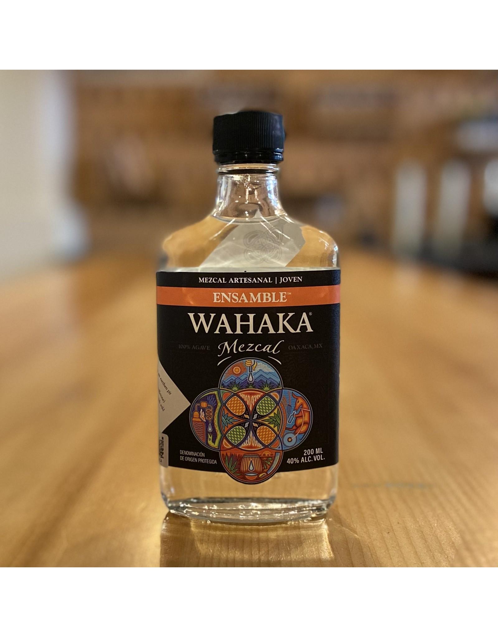 "Wahaka ""Ensamble"" Joven Mezcal w/Espadin, Madre-Cuishe and Tobala Agave 200ml - Oaxaca, Mexico"
