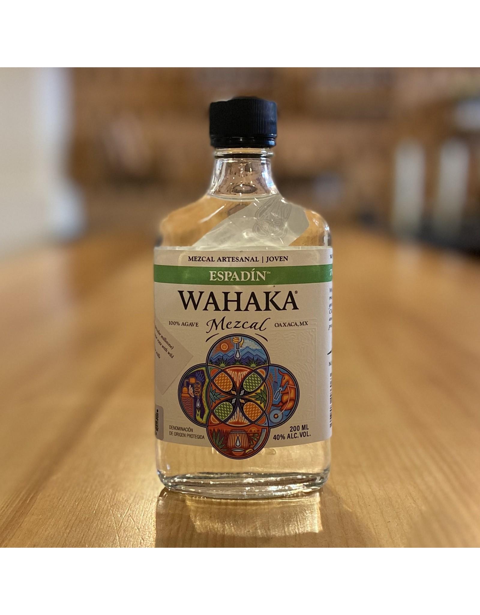 """Organic Wahaka """"Espadin"""" Joven Mezcal 200ml - Oaxaca, Mexico"""