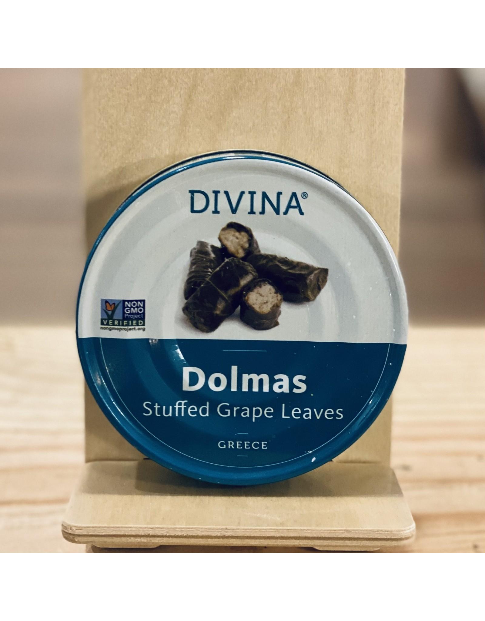 Divina Dolmas Stuffed Grape Leaves 7oz - Greece
