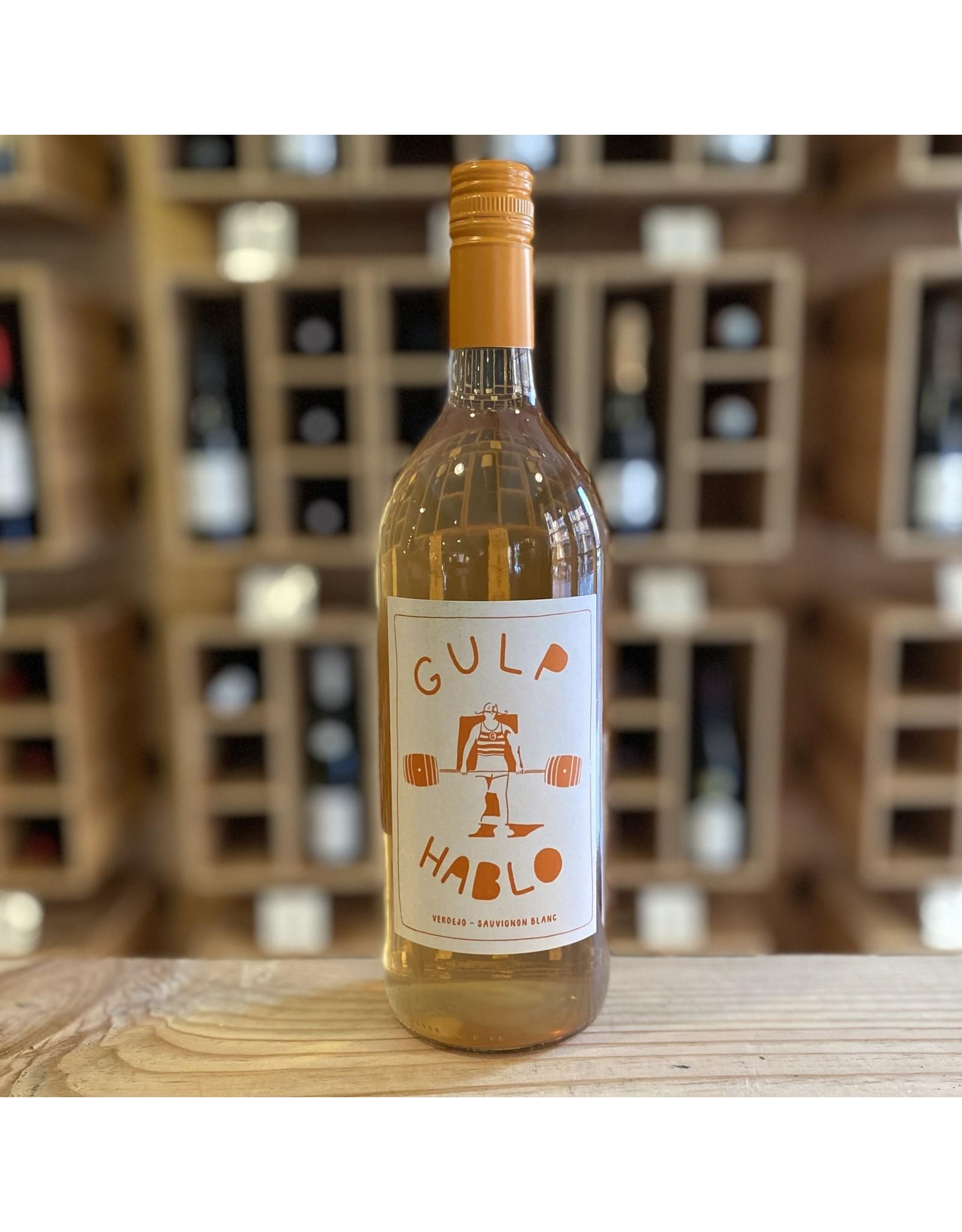 Organic Gulp/Hablo Skin-Fermented Verdejo/Sauvignon Blanc 2020 Liter Bottle - Castilla-La Mancha, Spain