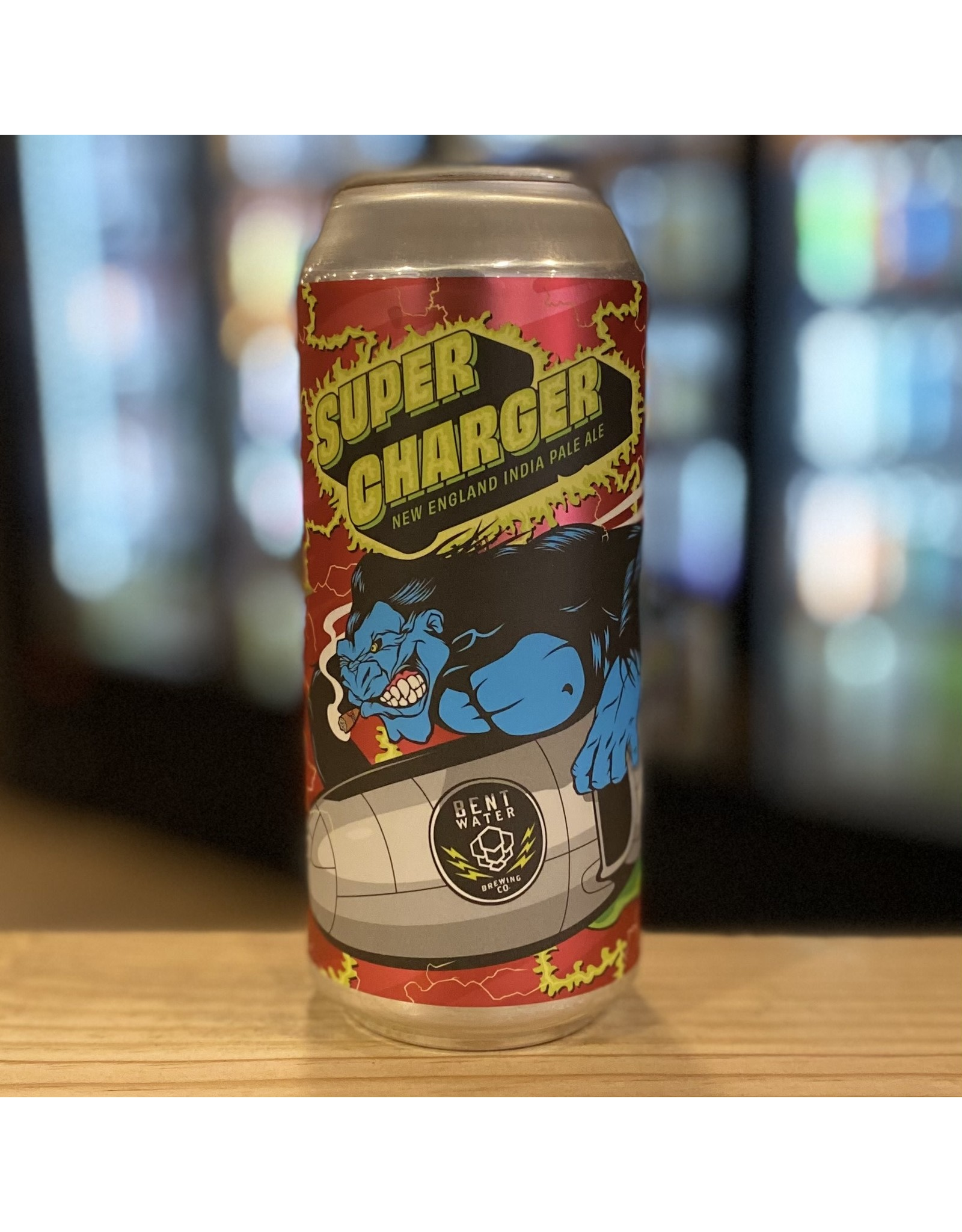 """NEIPA Bent Water Brewing Co """"Supercharger"""" NEIPA - Lynn, MA"""
