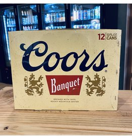 "12-Pack Coors ""Banquet"" Golden Beer 12-Pack - Colorado"