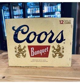 "12-Pack Coors ""Banquet"" Golden Beer 12-Pack - Colorado"