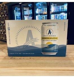 """Non-Alchoholic Athletic Brewing """"Cerveza Athletica"""" Non-Alchoholic Light Copper Ale 12oz 6-pack- Stratford, CT"""