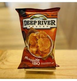 "Deep River Snacks ""Mesquite BBQ"" Kettle Cooked Potato Chips 2oz Bag - Deep River, CT"